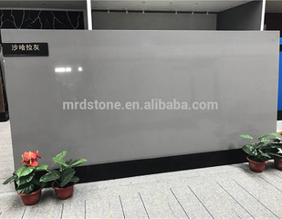Chinese quartz stone wholesale ,pure grey quartz stone slabs