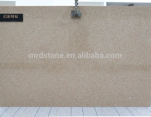Wholesale Sparkle Brown Engineered Artificial Marble Stone