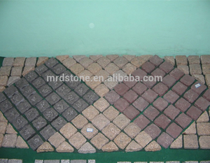 Hot sale cheap nature stone patio pavers paving stone granite cobblestones paver for driveway