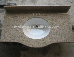 Wholesale China Nature Stone G682 Prefab Granite Kitchen Countertop