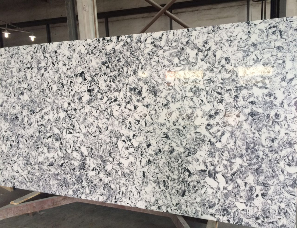 Wholesale Engineered Artificial Quartz Stone For Kitchen Countertop