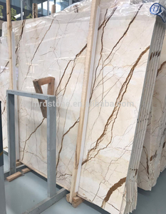 Chinese Forest Types White Natural Marble Slab