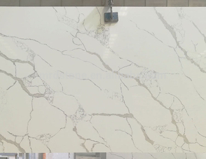 High Quality SGS Certified Artificial White Calacatta Quartz Stone