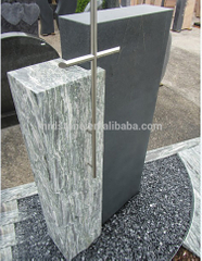 Cheap Natural Stone Germany Style Blank Granite Tombstone