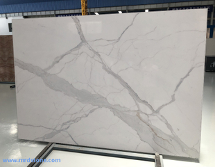 Calacatta White Artificial Marble Stone Slabs