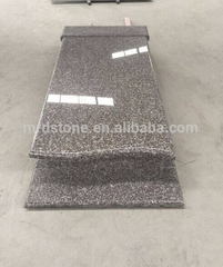 Cheap custom poland style G664 polished granite tombstone pictures
