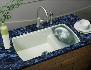 High quality kitchen countertop Sapphire blue quartz