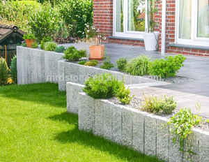 Wholesale granite road kerb paving stone kerbstone types