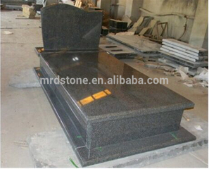 China online shopping polished G654 granite gravestone