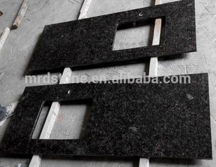 Cheap Price Tan Brown Granite Natural Stone Countertops Vanity Tops Table Tops