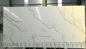 Wholesale Artificial Stone White Calacatta Quartz Slab Price