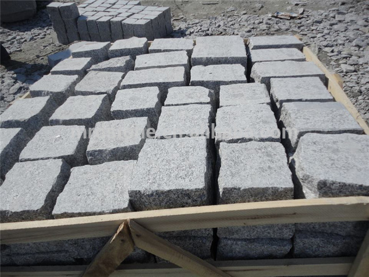 China manufacture lowest price granite paving stone