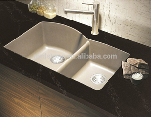Wholesale high quality Brown Textured calacatta quartz countertop engineered quartz stone