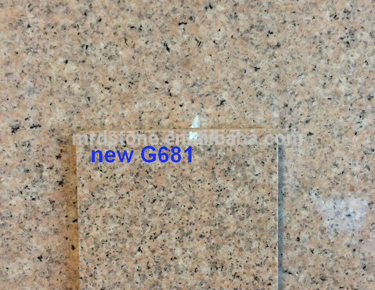 Chinese Cheap Natural G681 Outdoor Yellow Granite Tile