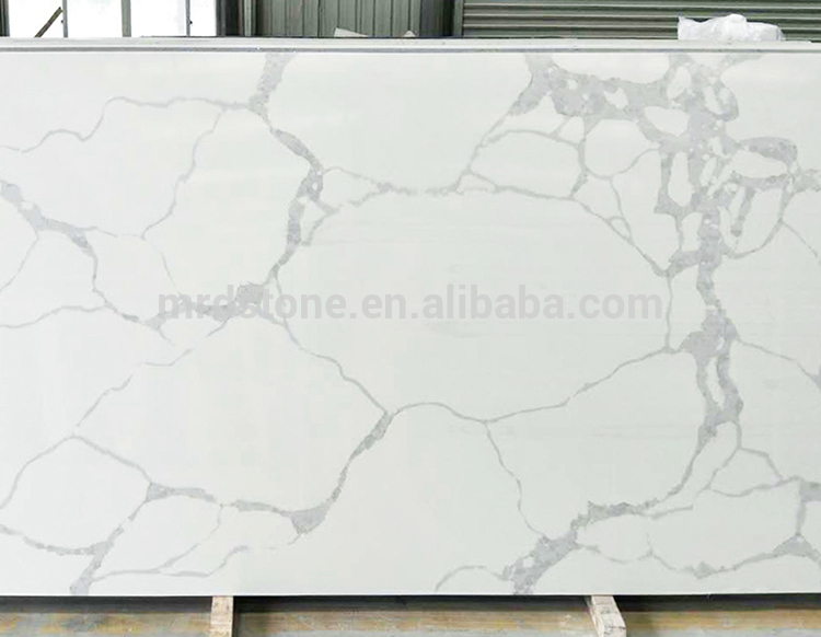 Wholesale Price ISO9001 Approved Artificial Stone White Calacatta Quartz