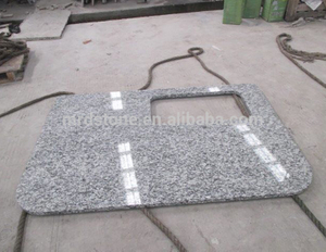 Chinese Customized Design Grey Granite Kitchen Countertops