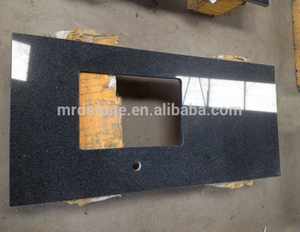 Manufacturers Chinese G654 Black Used Granite Countertops For Sale