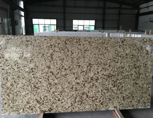 Wholesale Artificial Stone Sheet / Quartz Slab For Kitchen Countertops