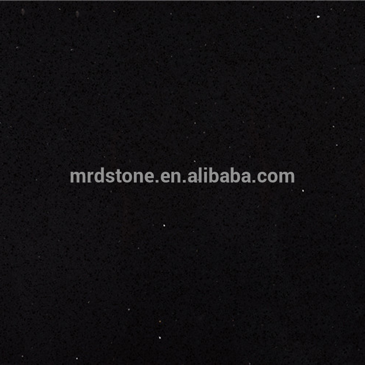 Factory Supplier CE Approved Artificial Starlight Black Galaxy Quartz Stone