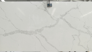 Cheap China Artifical Stone White Calacatta Quartz Price