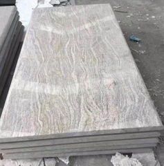 Poland style polished China Juparana granite Monument