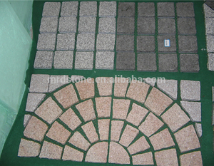 Driveway granite cube stone cheap patio paver stones for sale granite paving stone