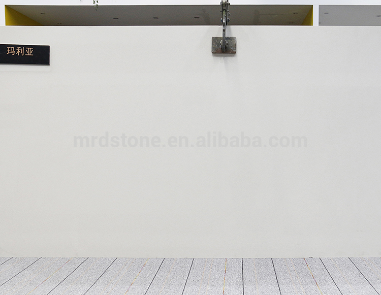 Original Factory Small Particles Artificial White Quartz Slabs Price