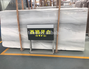 Factory China Polished Spain Grey Veins Names Of White Marble
