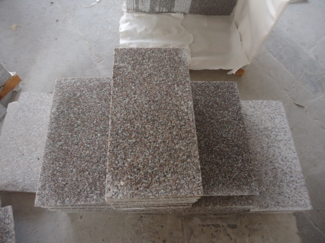 Pink Granite G636 Stone Tiles for Pavement