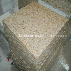 G682 Golden Yellow Granite Flamed Tile or Pavers