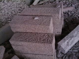 Cube Slabs Kerbstone for Granite Paving Stone