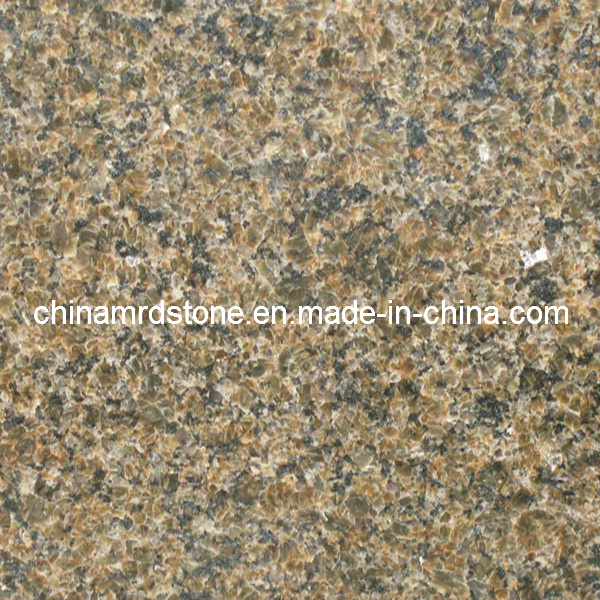 Golden Diamond Granite for Exterior Wall and Building