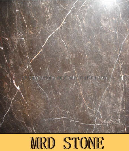 Tulip Brown Natural Stone Slab of Marble