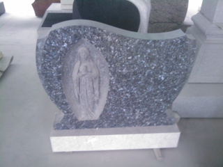 Western Style Blue Pearl Grave Stone / Memorial Stone