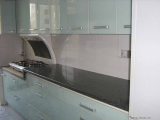 Black Granite & Marble Kitchen Countertops