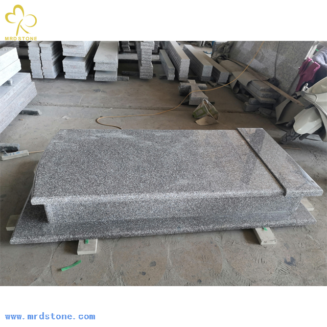 Wholesale Cheap China pink New G664-6 Granite Funeral Monument Gravestone Tombstone