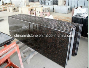Pre-Cut Tan Brown Granite Laminate Countertop for Kitchen
