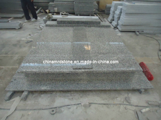 Grey G623 Granite for Double Tombstone