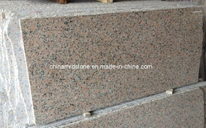 G563 Sanbao Red Granite for Floor Tile or Step Slab