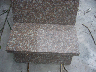 Cheap Polished G687 Peach Red Granite Cut to Size