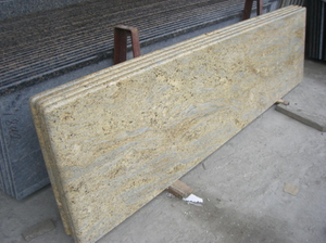 Kashmir gold Granite counter Top for Hotel Project