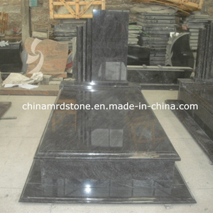Customize Bahama Blue / Orion Granite Single Tombstone with Low Price