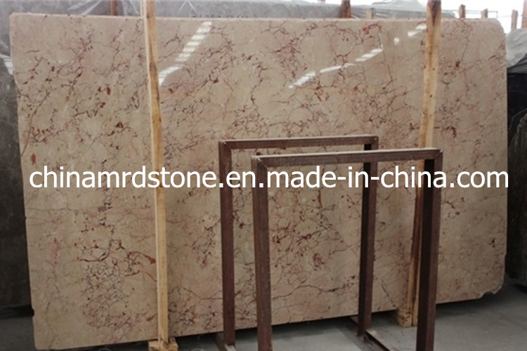 Cheap Rosalia Marble Slab for Hotel Flooring or Wall