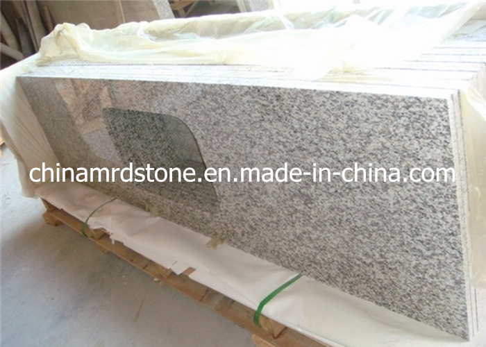 Wholesale Prefabricated Tiger Skin White Granite Laminate Countertop for Kitchen