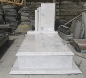 Black Granite Stone Monument & Tombstone for Custom Design