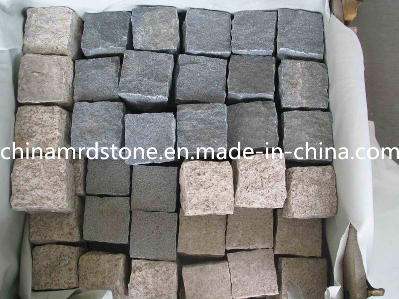 Natural Granite Paving Stone for Garden or Landscape Wall