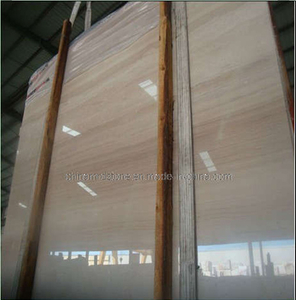 Italian Wood Grain Marble / Wooden Vein Marble for Bathroom
