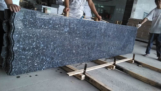 Material Blue Pearl Small Slabs for Kitchen Floor