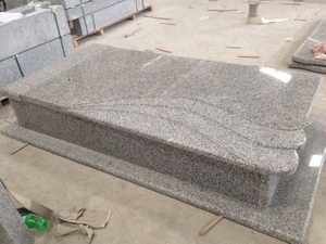 Grey G623 Stone Monument for Cemetery