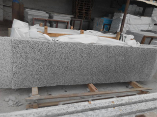 G439 White Granite Little Slabs with Favorable Price